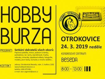 Hobby burza, OTROKOVICE, 24.3.2019, neděle