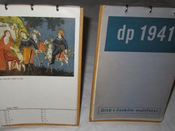 Staré stolní kalendáře